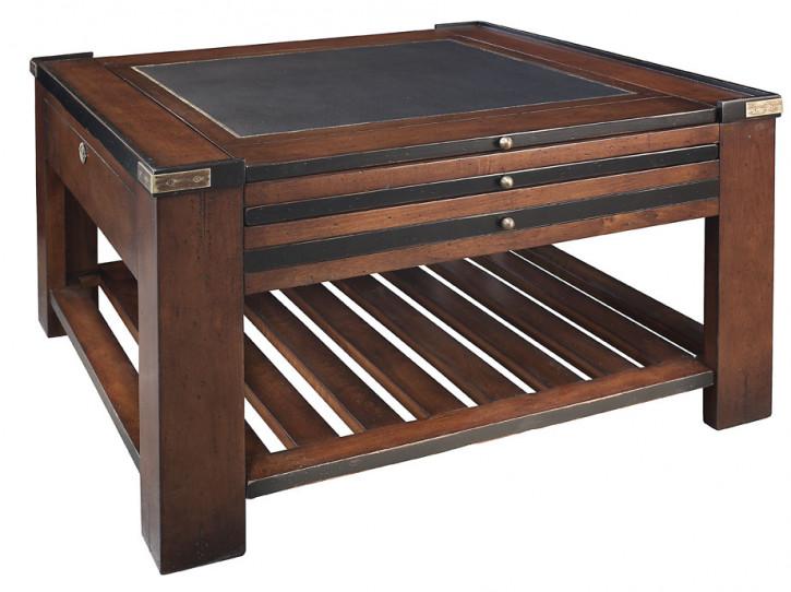 Spieltisch Holztisch Wohnzimmertisch Beistelltisch, Schwarz
