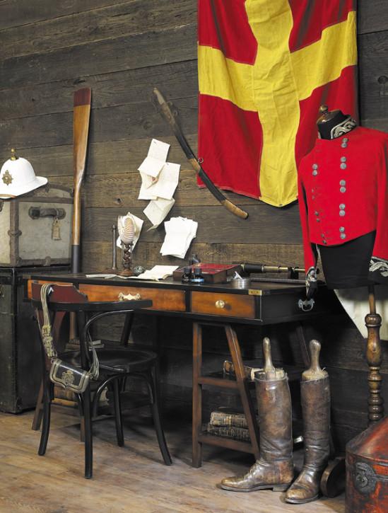 Schreibtisch - Navigators Desk, Schwarz
