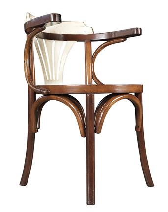 Stuhl - Navy Chair, schwarz/honig
