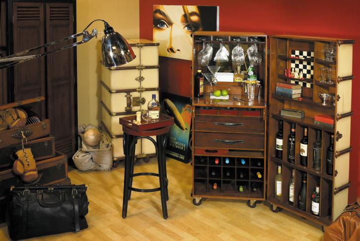 klappbare Bar - Stateroom Bar, elfenbein