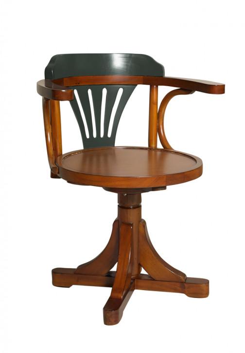 Stuhl - Pursers Chair, grau/honig