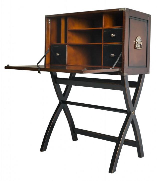 Campaign Cabinet Desk Reiseschreibtisch