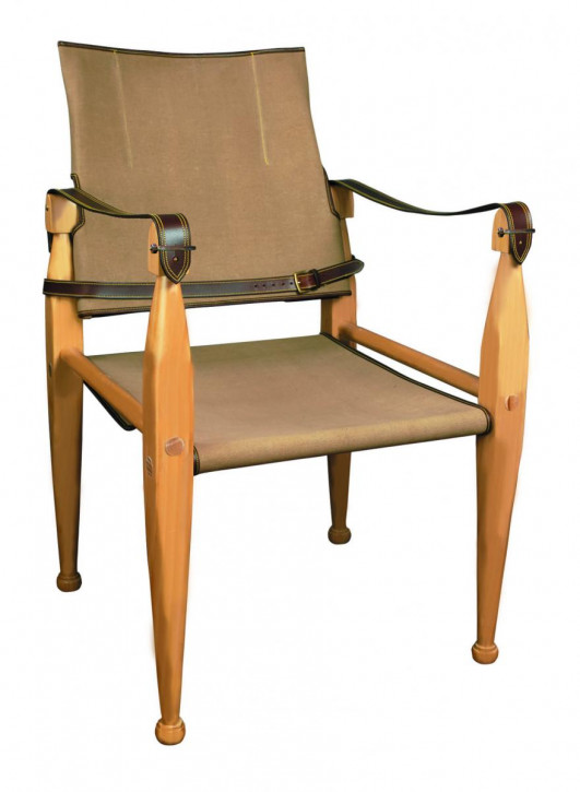 Canvas Campaign Chair