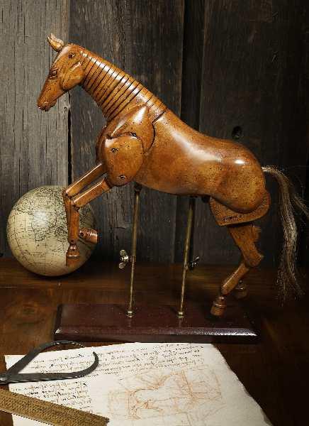 Künstler Pferd - groß