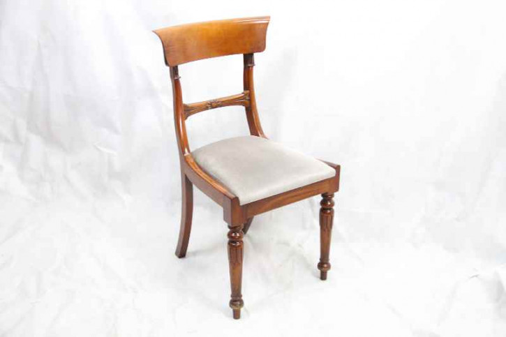 mahagoni   single chair massives Mahagoni