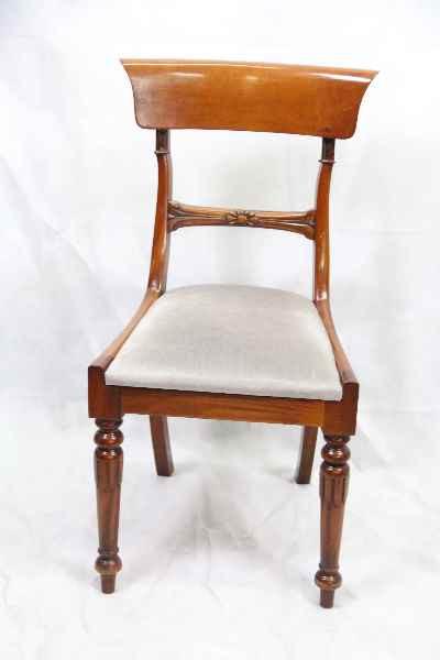 mahagoni   single chair massives Mahagoni