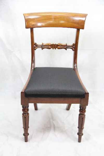 Victorianische Mahagoni Stuhl Single chair