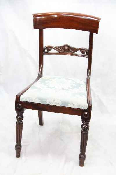 Victorianische antiker  Mahagoni Stuhl Single chair