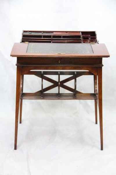 Ladys Writing Table Bureau Schreibtisch Mahagoni