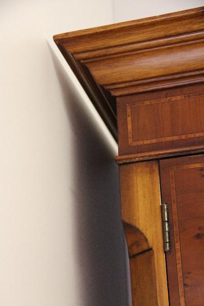 Bücherschrank Bookcase Eibe Regency Verglasung