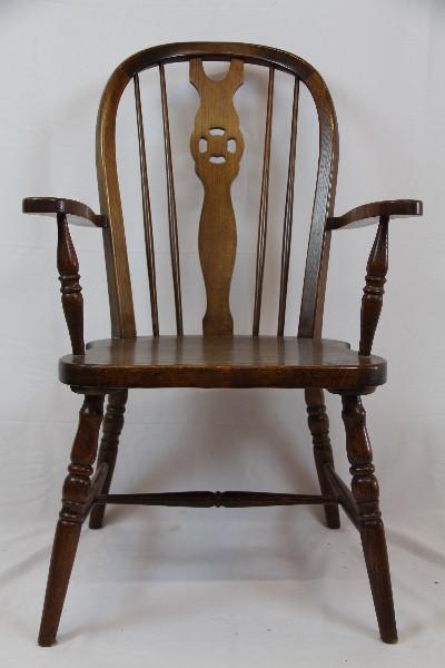 Paar Windsor chairs  Massivholz 19 JH