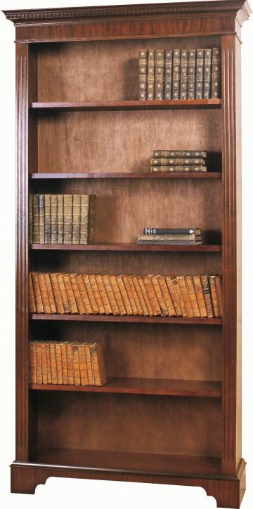 Englisches Bücherregal in Mahagoni