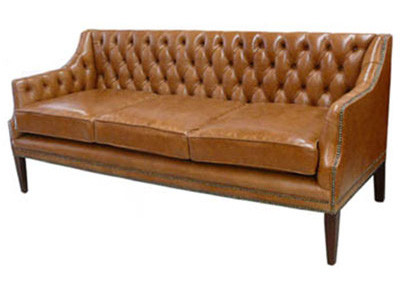 """Middleton Club"" original Chesterfield Leder Sofa 3-Sitzer"
