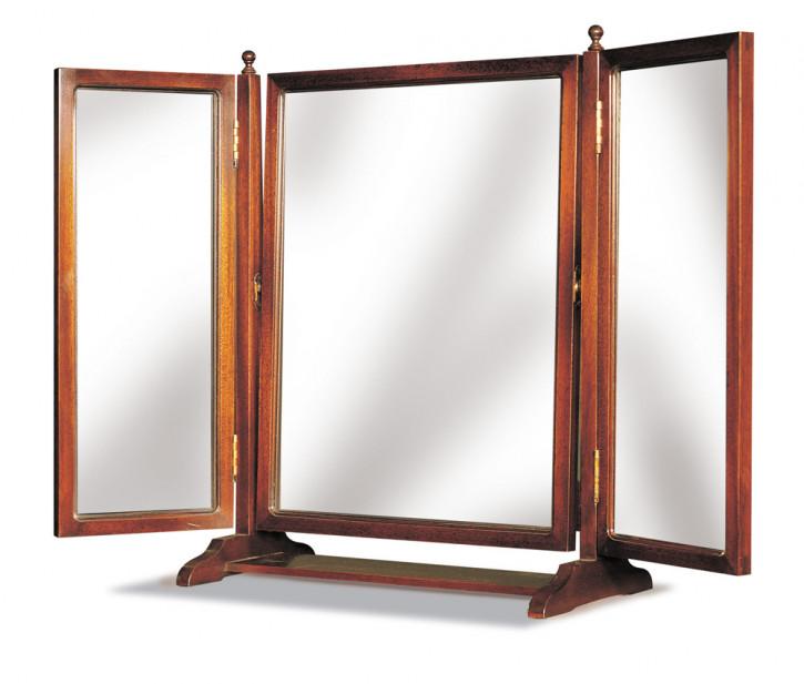 Spiegel in Mahagoni
