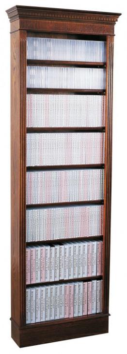 Extra Hohes Regal für Bücher/DVD/CD in Mahagoni