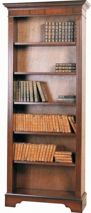 Englisches Mahagoni Bücherregal
