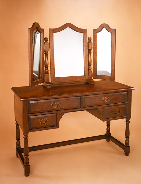 """Dressing Table Mirror - 3 Plate"""
