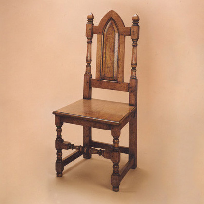 Joined Gothic Chair - Side