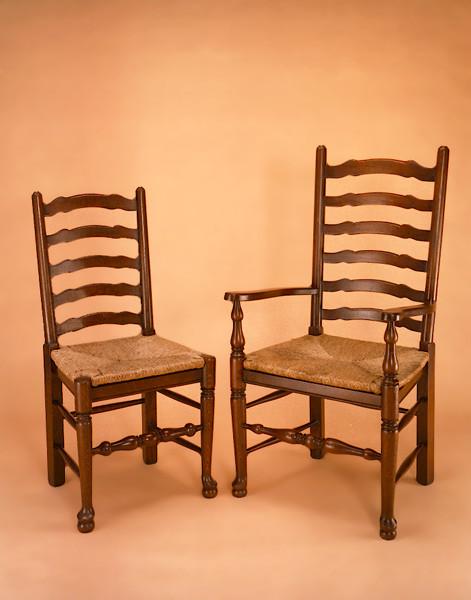 Ladder Back Chair - Side
