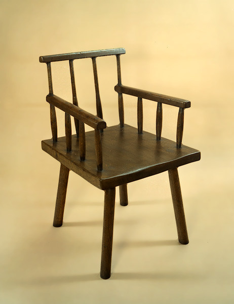 Primative Comb Back Chair - Arm