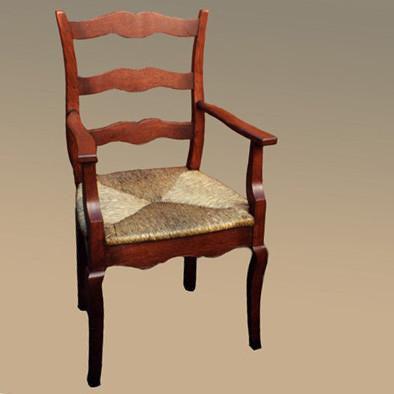 Provence Cabriole Chair - Arm