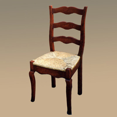 Provence Cabriole Chair - Side