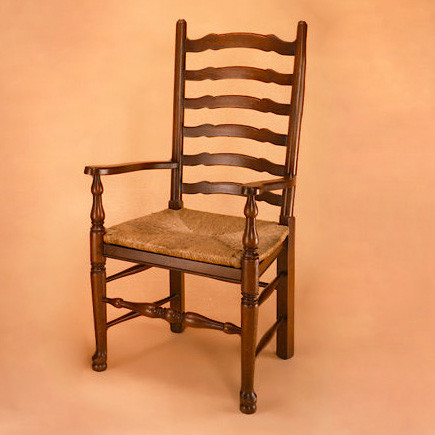 Ladder Back Chair - Arm