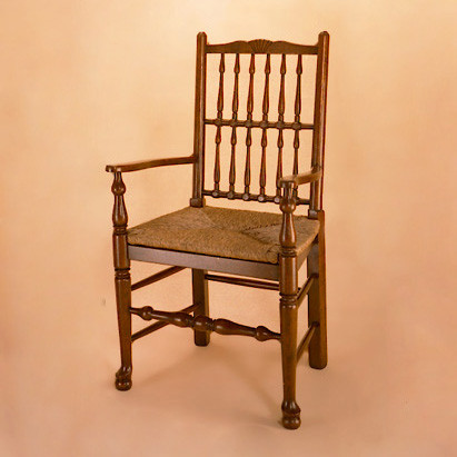 Spindle Back Chair - Arm