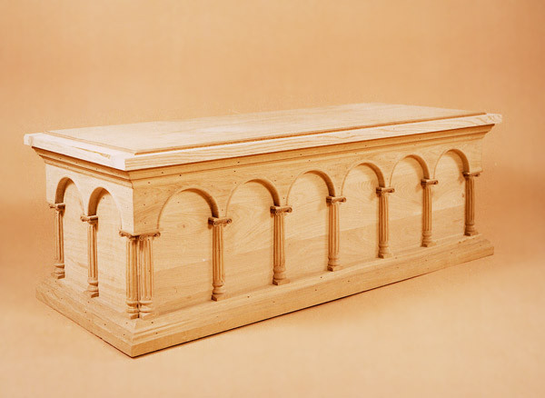 Blanket Box - Arcaded Design