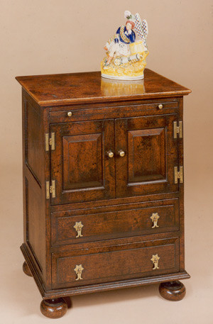 Joined Enclosed Bedside Cabinet
