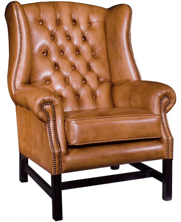 Oakwood Wing Chair Handpatiniert