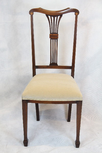 Mahgoni Chair  1890 Single Chair Edwardian schöner Mahagoni Stuhl