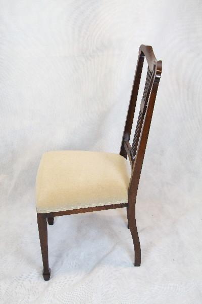 Mahgoni Chair  1890 Single Chair Edwardian schöner Mahagoni Stuhl