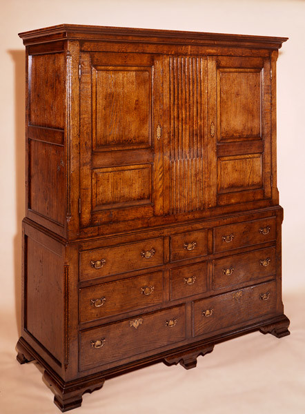 Joined Linen Press - Five Drawers