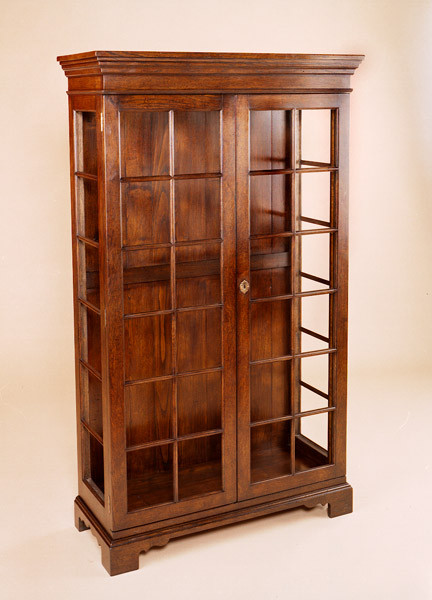 Bookcase - Four Door - Open Top