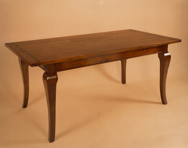 Dining Table - Cherry Wood - Cabriole Leg