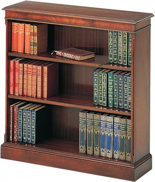 Bücherschrank Bücherregal klein in Mahagoni