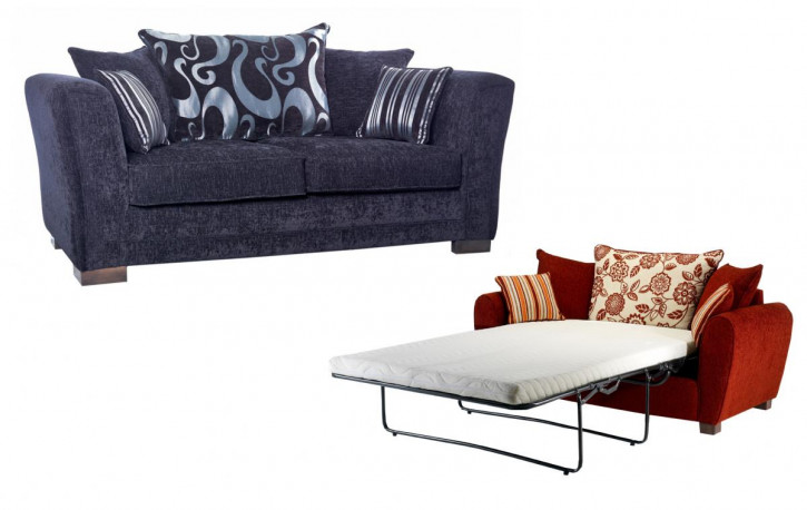 Schlafsofa Oslo Scatter 3 Seater Sofabed 200cm