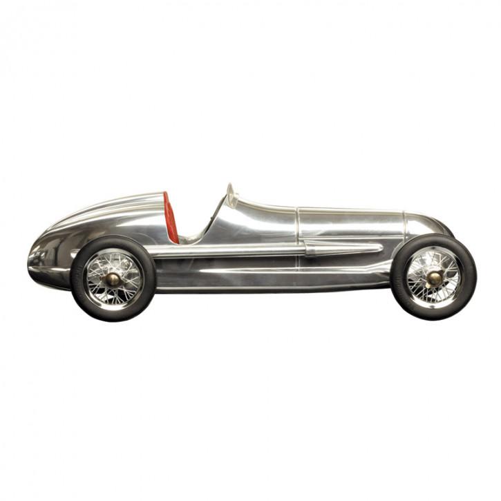 Modellauto - Silberpfeil Alu/Red