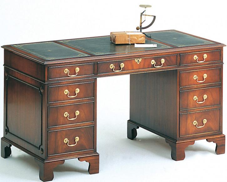 Bevan Funnell Pedestal Schreibtisch in Eibe