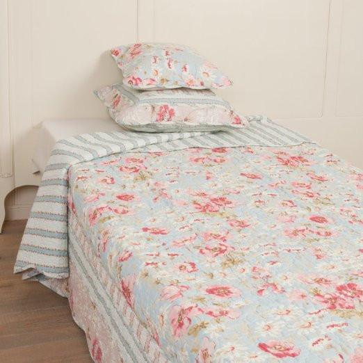 Bettüberwurf - Tagesdecke - Quilt - Patchwork - 300x260cm