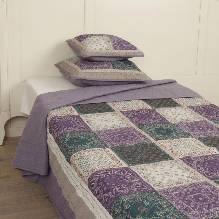 "Tagesdecke ""Purple Patch"" 140x220"