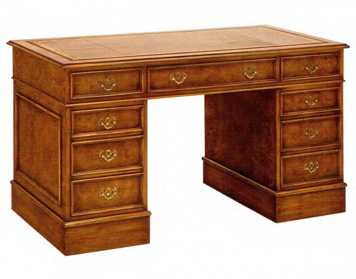 Schreibtisch mit Schrank und Schubladen 122cm