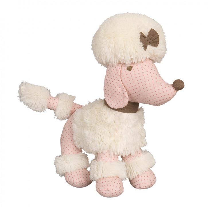 Hund rosa 35 cm
