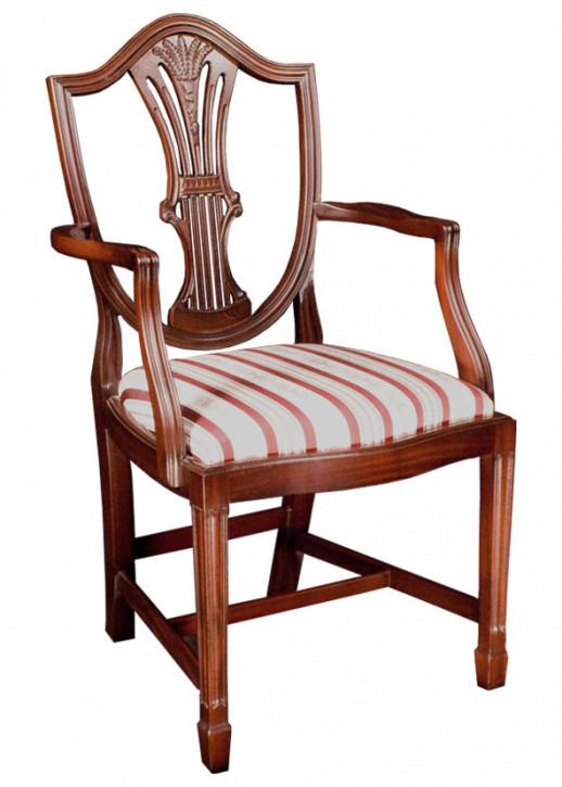 Norwich Shieldback Chair in Mahagony