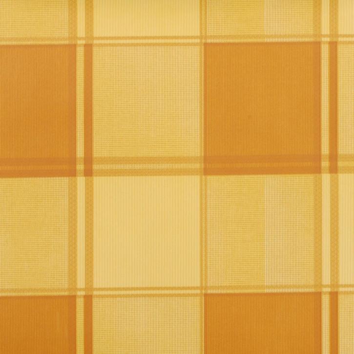 Wachstuch karriert gelblich/Natur 140 x 200 cm