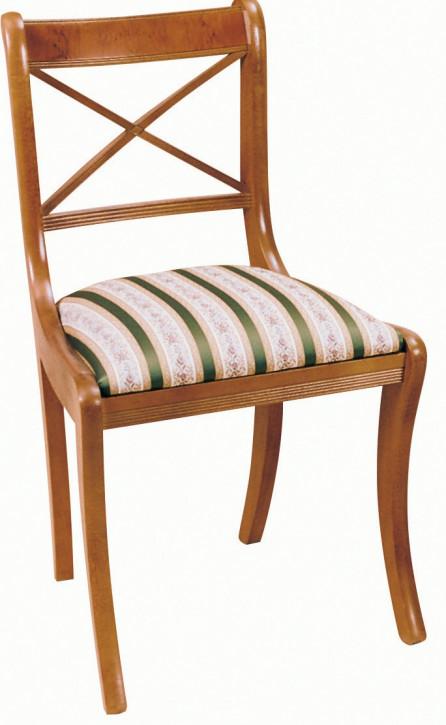 "Englischer ""Cross Stick Chair"" Stuhl im Regency Stil"