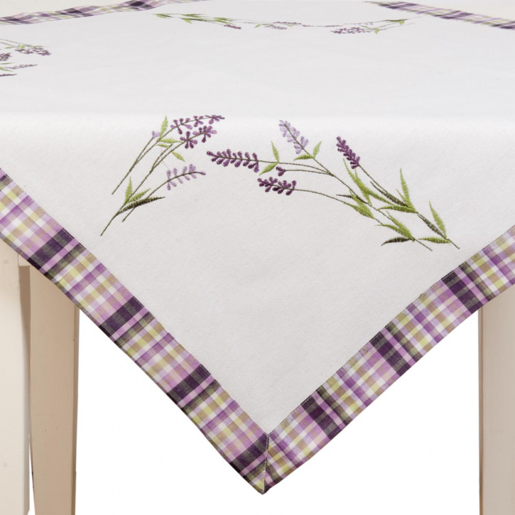 Tischdecke Lavendel ca. 85 x 85 cm