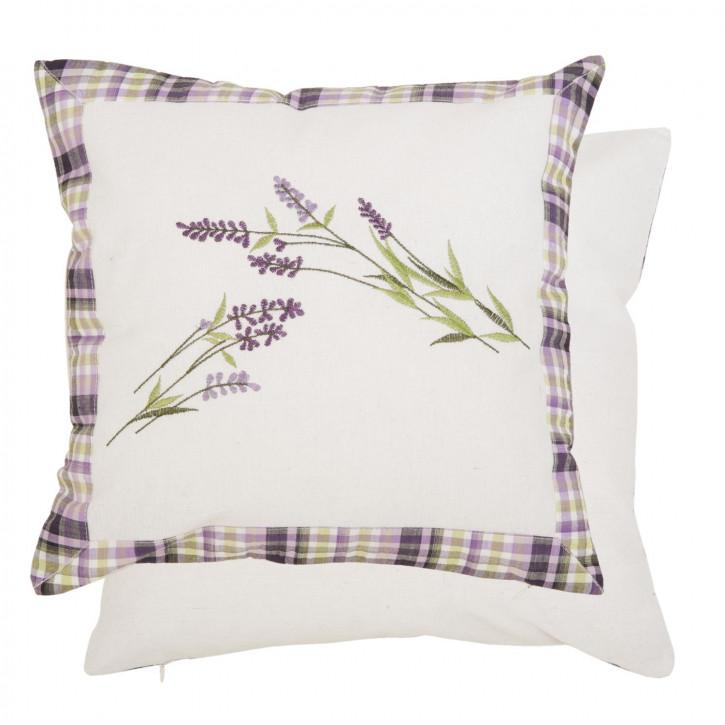 Kissenhülle Lavendel ca. 40 x 40 cm
