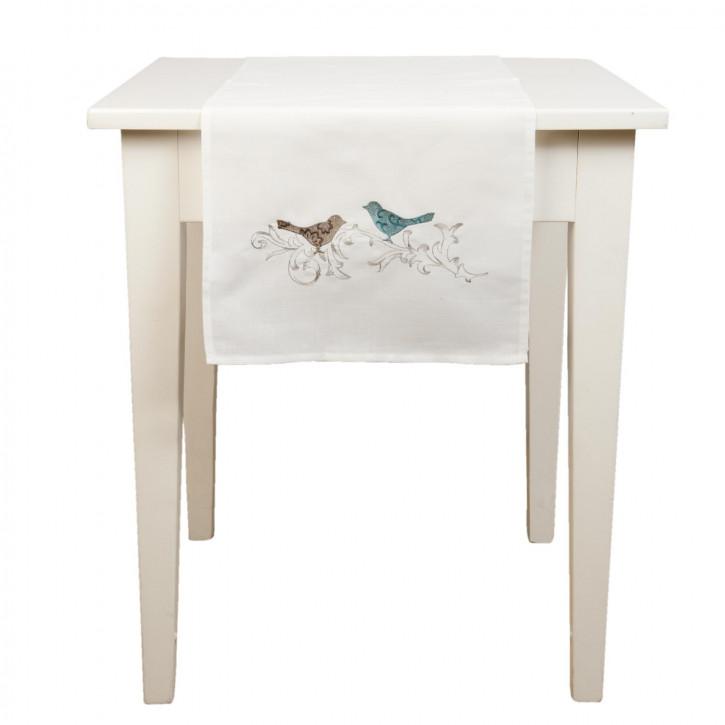Tischläufer Vögel ca. 40 x 120 cm